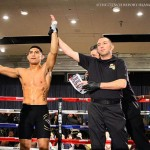 Injury Halts Paul Amaro vs Georgie Garcia