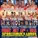 Fight Night 3 at the Sportsmen's Lodge (full event video)