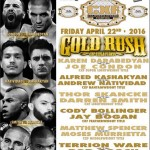 CXF Gold Rush April 22nd (weigh-ins video)